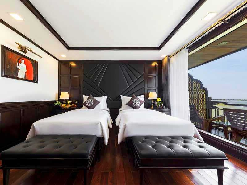 Princess Suite Single - 1 Pax/ Cabin (Location: 1st, 2nd & 3rd Deck - Private Balcony)
